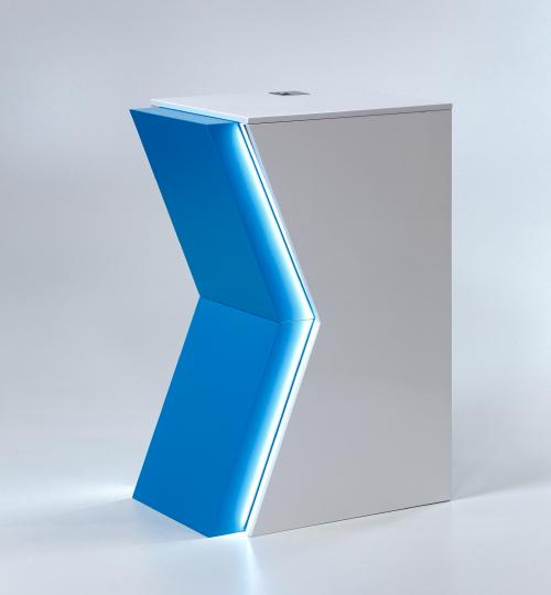 K - shape counter