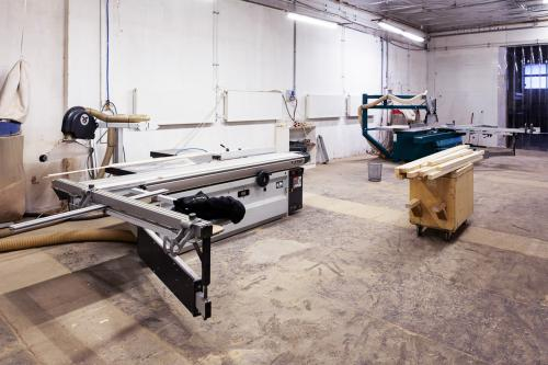 Manufacture of furniture I OUR MACHINES