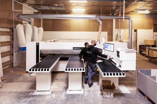 Möbelherstellung I Maschinen