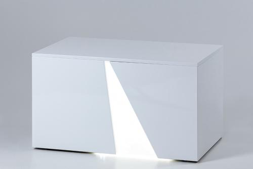 illuminated white bench_1
