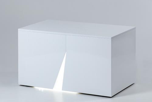 illuminated white bench_2