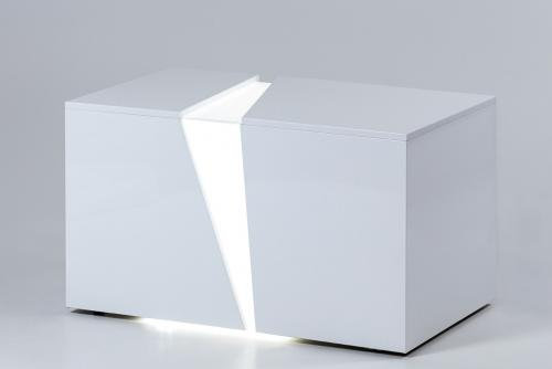 illuminated white bench_4