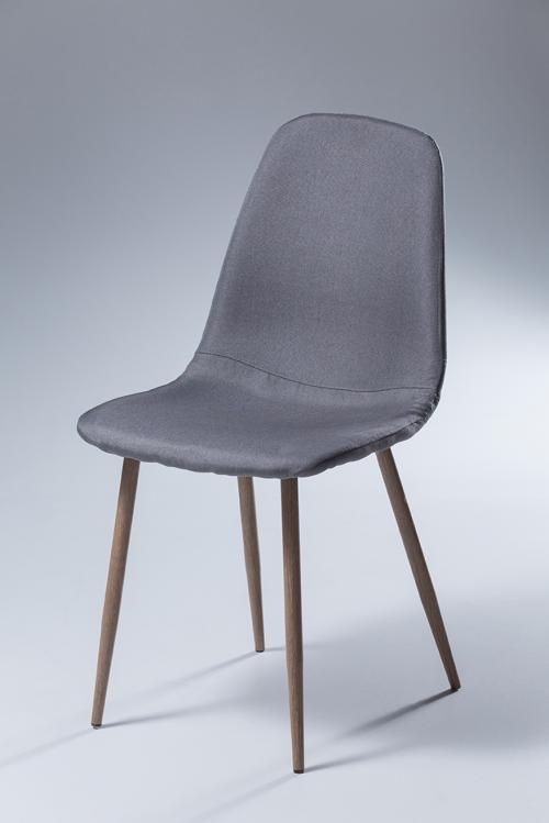 grauer Stuhl